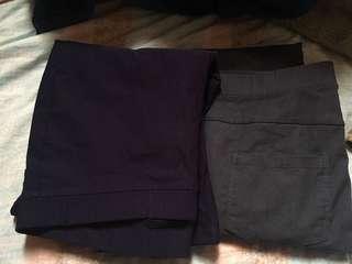 🚚 NET素色彈性長褲👖均一價150
