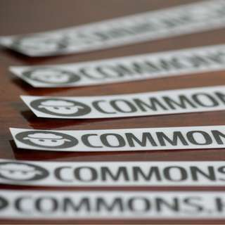 Laptop Stickers Commons Host