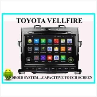 Toyota Alphard Vellfire Android Player