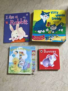 Board books x4