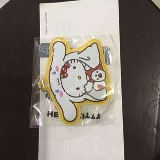 🚚 Hello Kitty行李吊牌-大耳狗款 三麗鷗授權x7-11