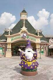 Enchanted kingdom with agila