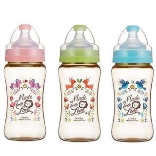 小獅王辛巴 桃樂絲PPSU寬口葫蘆大奶瓶270ml