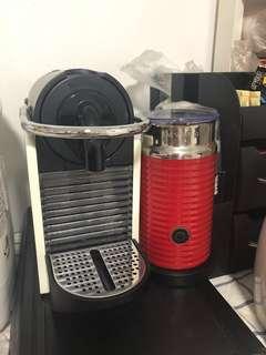 Nespresso Pixie and Aeroccino 3