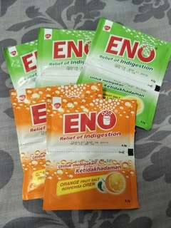 Eno 10packs (ori $0.8 each sachet)