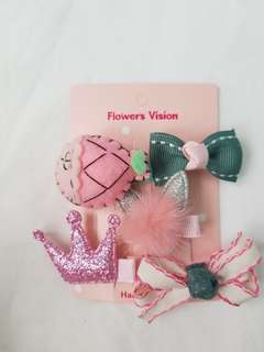 Assorted Baby Hair Clips