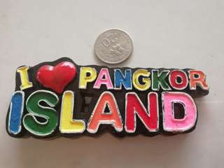 Pangkor wordings fridge magnet rm2.50 New