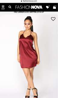 Fashion Nova short evening dress size M
