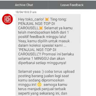 10. Thank You Again Carousell