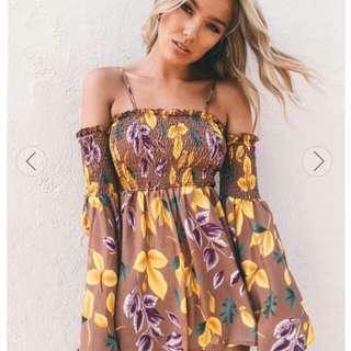 Off Shoulder Summer Dress☆