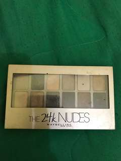 The 24k nudes eyeshadow