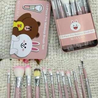12-pc Brush Set