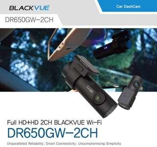 Blackvue Dashcam DR650GW-2CH