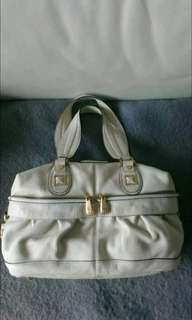 BCBG MaxAzria Leather Satchel