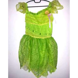 Tinkerbell costume dress 7-8y