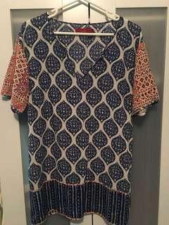 Tigerlily pattern dress