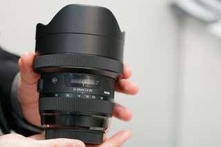 Sigma 12-24mm f/4 DG HSM Art Lens