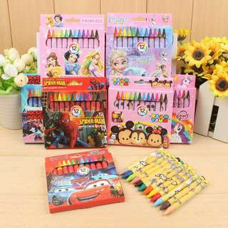 Stationery goodie bag crayon