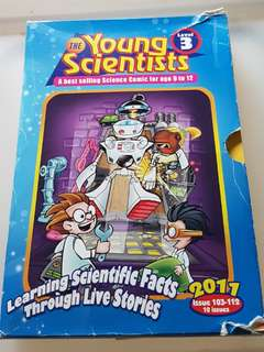 Young Scientists: Learning Scientific Facts Through Live Stories (2011 Level 3: 10 issues in box holder)