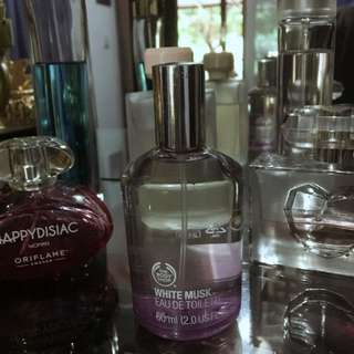 The body shop White Musk Parfum