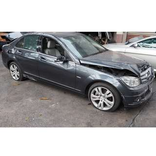 MERCEDES W204 C180K 2008 MODEL CAR PARTS FOR SALE (07102)