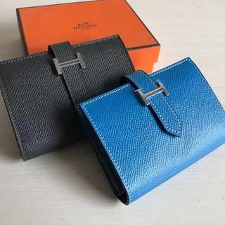 Hermès Epsom Mini Bearn Wallet