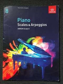 Grade8 Scales ABRSM piano