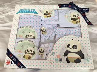 6 pcs DreamWorks Kung Fu Panda Baby Clothes Gift Set for 0-3 months