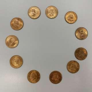 【錢幣收藏】United States of America Presidents tokens