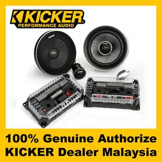 "KICKER Q-Class 6.5"" 2-Way Component speaker - QSS654"