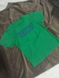Unisex OSHKOSH Tshirt for 3-4 years old