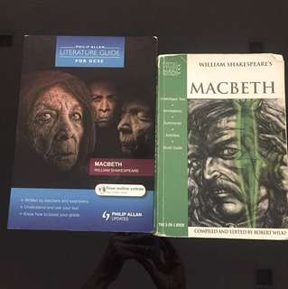 Macbeth literature book and guide book
