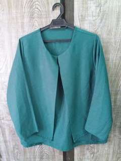 Blouse Emerald Green