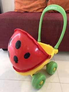 Playskool ladybug doll stroller