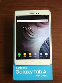 """Samsung Tab A with S Pen 8"""""""