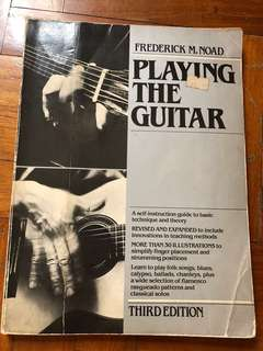Playing guitar self teaching guide basic level