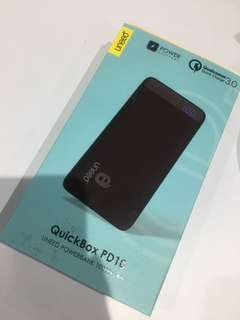 Powerbank Uneed quickbox PD10