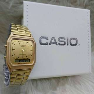 CASIO ROSE GOLD BARU