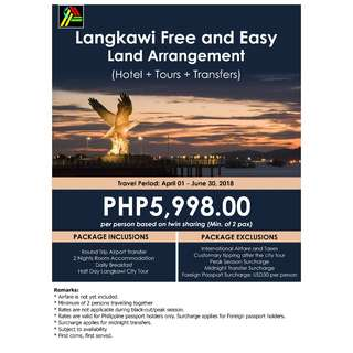 Langkawi Free and Easy Land Arrangement