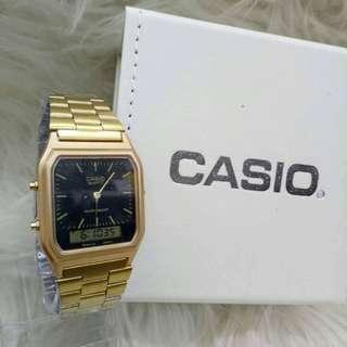 CASIO ROSE GOLD BARU