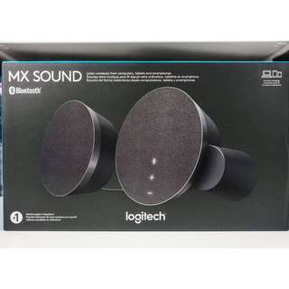LOGITECH MX SOUND Premium Bluetooth Speakers NEW