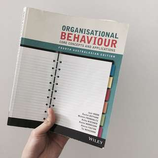 Organisational Behaviour Textbook