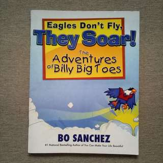 Eagles Don't Fly,  They Soar! -Bo Sanchez