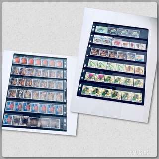 2 lots S'pore Stamps