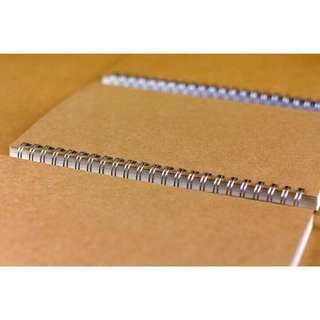 Muji Inspired Kraft Dotted Notebook (OPEN FOR PRE-ORDER)