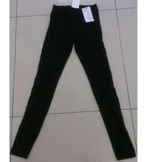 H&M 韓國 點點激瘦 彈力內搭褲 長褲