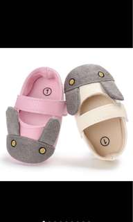 Baby girl rabbit soft shoe prewalker infant newborn toddler