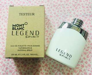 Mont Blanc EDT 100ml Man Legend - Tester box