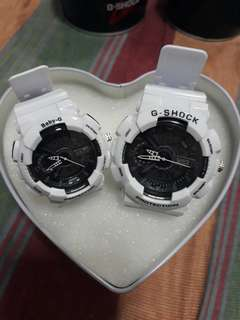 Gshock Couple Watch