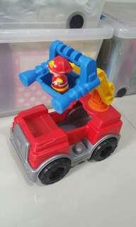 MEGA Fire Engine Children Kids Toys